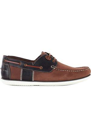 Barbour Men's Capstan Boat Shoes - Brandy - Size 10