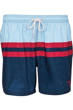 Barbour Men's Double Stripe Swim Trunks - Powder - Size XXL