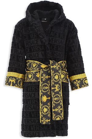 VERSACE Little Kid's & Kid's Decorative Trim Cotton Robe - - Size 2