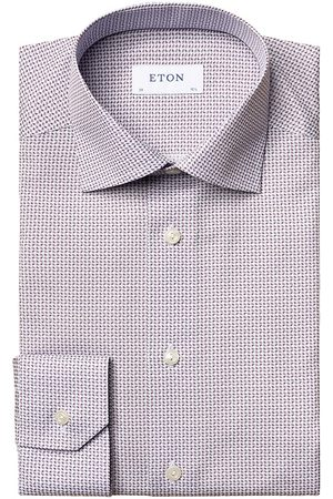 Eton Men's Contemporary-Fit Printed Dress Shirt - - Size 16