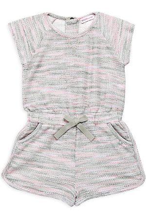 Design History Little Girl's & Girl's Tie-Dye Romper - Neon Combo - Size 6