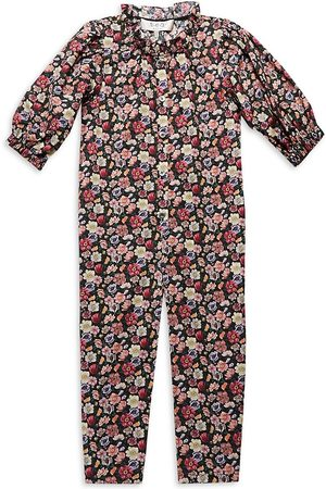 SEA Little Girl's & Girl's Leslie Liberty Jumpsuit - - Size 3