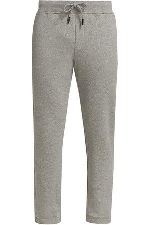 ISAIA Men's Linen Sweatpants - Light Grey - Size Medium