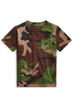 Ralph Lauren Little Boy's & Boy's Camo Print T-Shirt - Multi - Size 6