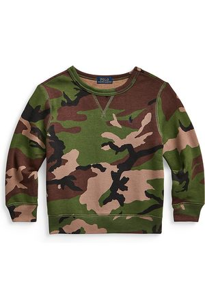 Ralph Lauren Little Boy's & Boy's Printed Fleece Sweatshirt - Multi - Size 10