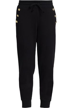Derek Lam Women's Jax Sailor Straight-Leg Sweatpants - - Size Large