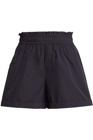 A.L.C. Women's Kaleb Pull-On Shorts - Midnight - Size Large