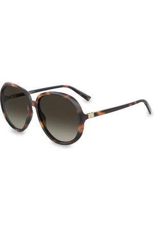 Givenchy Women's 61MM Oversized Round Sunglasses - Havana