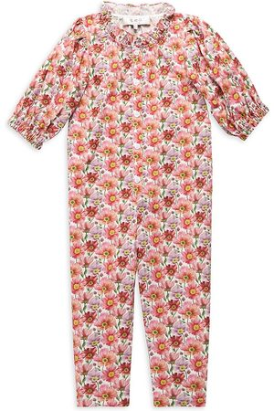 SEA Little Girl's & Girl's Leslie Liberty Jumpsuit - - Size 7