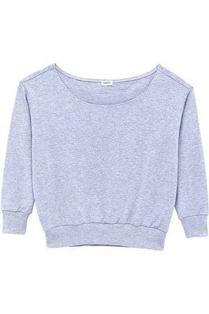 L'Agence Women's Kimora Off-The-Shoulder Top - Heather Grey - Size XL