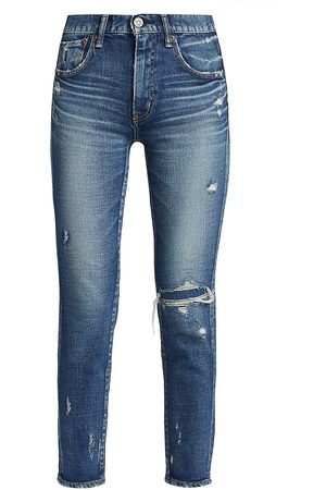 Moussy Women's Lenwood Skinny Jeans - - Size Denim: 29