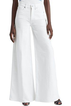 Ralph Lauren Women's Astor Wide-Leg Jeans - Rinsed - Size Denim: 26