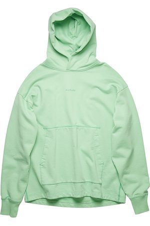 Acne Men's Logo Hooded Sweatshirt - Mint - Size XL