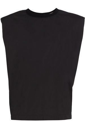 Remain Birger Christensen Women's Christie Padded Shoulder T-Shirt - - Size 2
