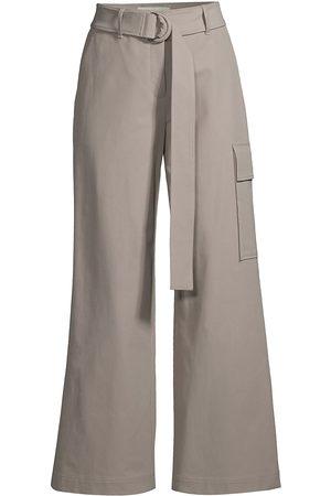 Lafayette 148 New York Women's Broadway Cargo Pants - Jute - Size 10