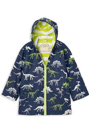 Hatley Little Boy's & Boy's Changing Color Dinosaur Raincoat - - Size 10