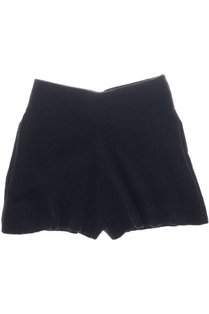 Helmut Lang Women's Rib-Knit Shorts - - Size Medium