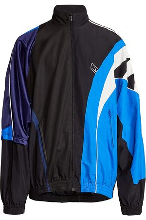 Balenciaga Men's Colorblock Tracksuit Jacket - - Size XXS