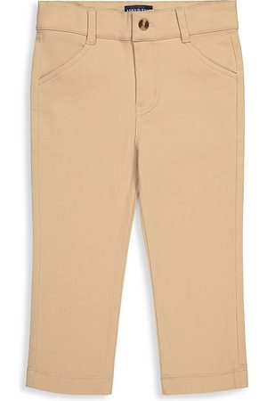 Andy & Evan Boys Stretch Pants - Baby's & Little Boy's Stretch-Cotton Twill Trousers - Khaki - Size 3 Months