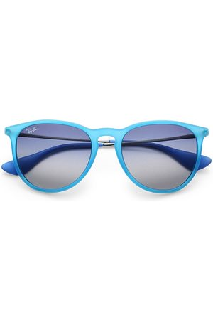 Ray-Ban Women's RB4171 54MM Erika Round Sunglasses - Teal