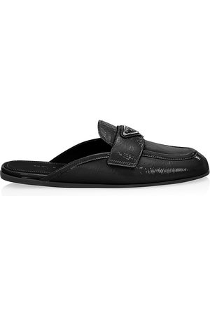 Prada Women's Patent Leather Loafer Mules - - Size 10.5