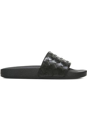 Vince Men's Watley 2 Leather Pool Slides - - Size 9 Sandals
