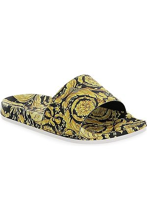 Versace Little Kid's and Kid's Barocco Slide Sandals - - Size 5.5 (Child)