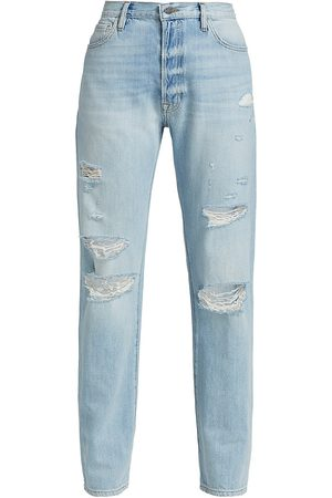 Frame Women's Le Slouch Ripped Jeans - Natoma - Size Denim: 29