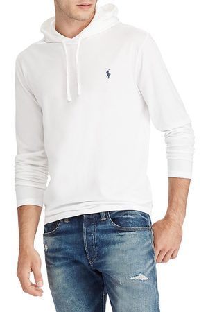 Polo Ralph Lauren Men's Long-Sleeve Cotton Jersey Hooded Tee - - Size XXL