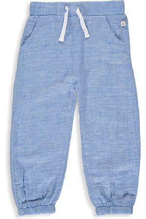 Me & Henry Little Boy's & Boy's Chambray Gauze Pants - Pale - Size 6