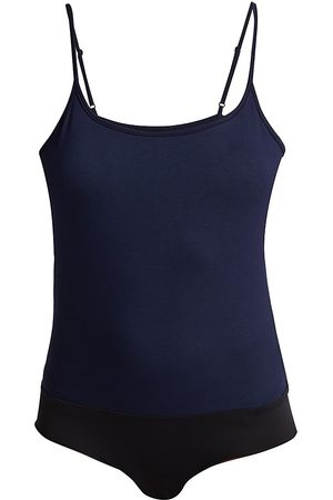 L'Agence Women's Ford Tank Bodysuit - Midnight - Size XS
