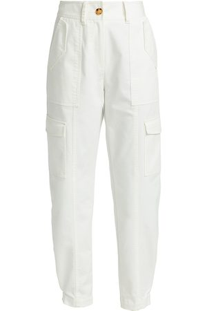 Derek Lam Women's Elian Utility Pants - Washed - Size 14