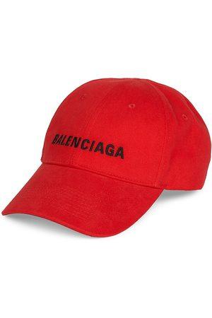 Balenciaga Men's Logo Baseball Cap - - Size Large