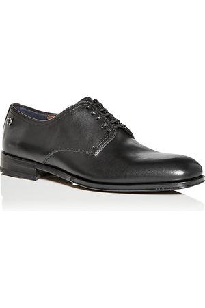 Salvatore Ferragamo Ferragamo Men's Plain Toe Oxfords - Wide