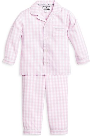 Petite Plume Unisex Bateau Gingham Pajama Set - Baby, Little Kid, Big Kid