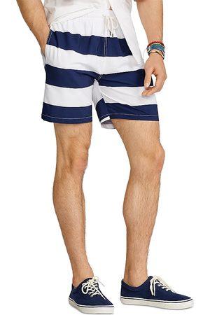 Polo Ralph Lauren Striped Traveler Swim Trunks