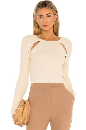 Song of Style Remmy Sweater in Ivory.