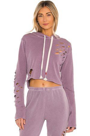 Wild Fox Rags To Riches Ivy Sweatshirt in Purple.
