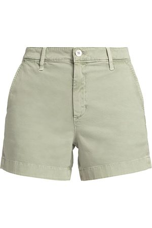 AG Jeans Women Shorts - Women's Caden Tailored Shorts - Sulphur Natural Lagave - Size Denim: 32