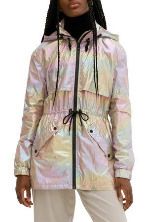 Noize Women's Matilda Hooded Windbreaker Jacket