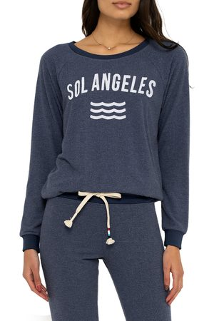 Sol Angeles Women's New Arc Hacci Pullover