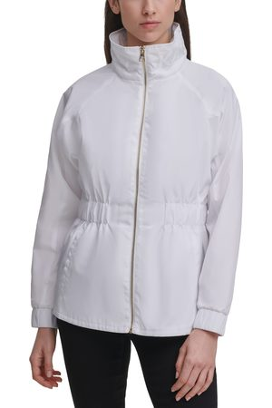 Karl Lagerfeld Paris Women's Water Resistant Windbreaker Jacket