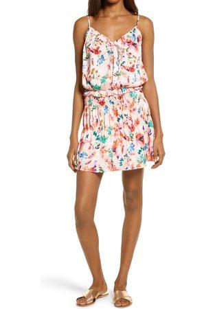 NSR Women's Teddi Floral Blouson Dress