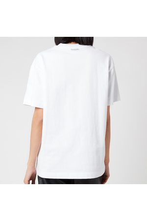 Alexander Wang Women's Short Sleeve Logo Graphic T-Shirt