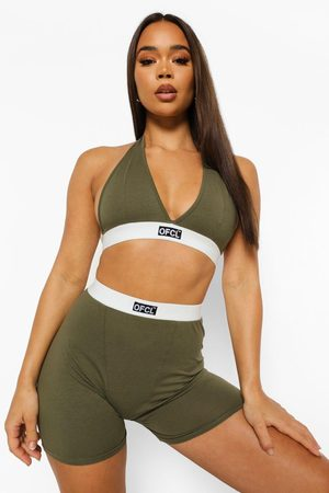 Boohoo Womens Official Jersey Bralet + Boxer Set - - 6