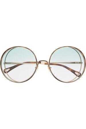 Chloé Eyewear Oversize round-frame sunglasses