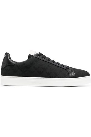 Emporio Armani Quilted low-top sneakers