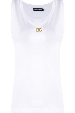 Dolce & Gabbana DG plaque tank top