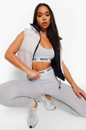 Boohoo Womens Official Tape Jersey Lounge Leggings - - 6