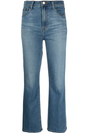 J Brand Franky cropped bootcut jeans